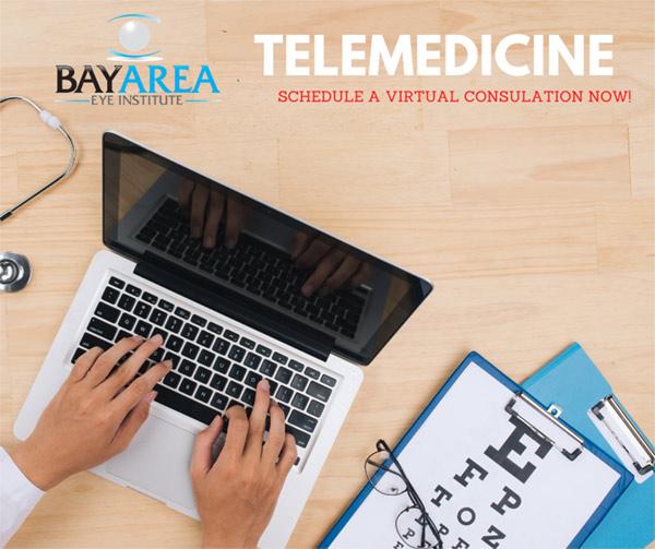 Telemedicine eye doctor in Tampa Bay Florida